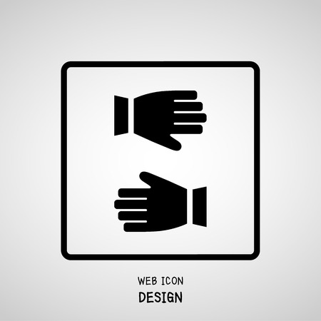 work gloves: Gloves flat design, Construction work gloves great for any use.