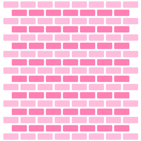 replicate: Brick wall seamless Vector illustration background - texture pattern for continuous replicate great for any use. Illustration