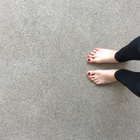 bare feet: Bare feet on floor great for any use.