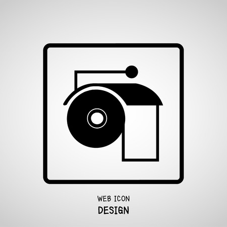sanitary towel: Toilet Paper Icon And Vector, Toilet Paper Icon Object Great For Any Use.