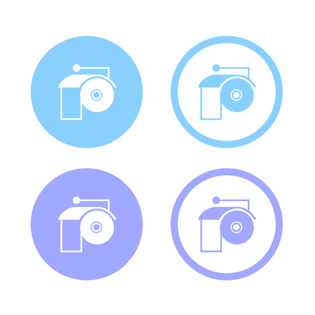 tissue paper art: Toilet Paper Icon And Vector, Toilet Paper Icon Object Great For Any Use.