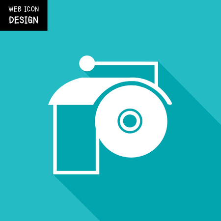 toilet paper art: Toilet Paper Icon And Vector, Toilet Paper Icon Object Great For Any Use.