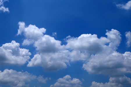 Blue Sky with Clouds Background Great For Any Use.