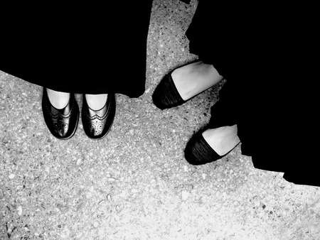 skirts: Selfie Womens Feet Wearing Black Sandals and Black Dress. People of Commemorate the King of Thailand Great For Any Use.