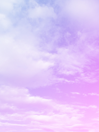 Abstract Clouds Pastel Colored Gradient. A Soft Sky Nature Outdoor Background Great for Any Use.