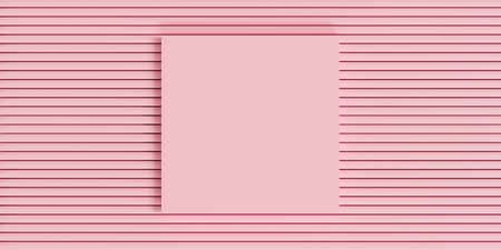 Abstract pastel color background. 3d render illustration for banner, advertising ideas, realistic empty poster design. Pink photo frame mockup template. Creative idea minimal scene.