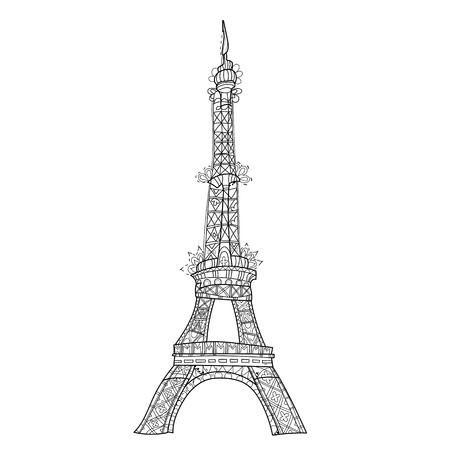 190 Adult Eiffel Tower Stock Vector Illustration And Royalty Free ...