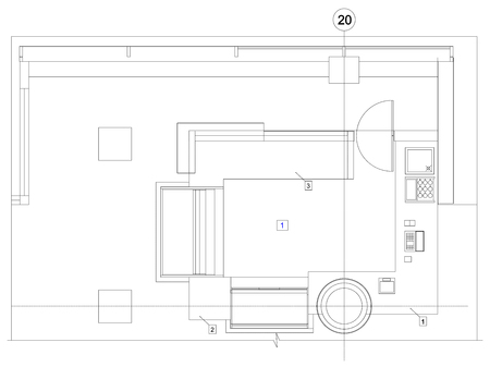 Standard Living Room Floor Plan Royalty Free Cliparts Vectors And