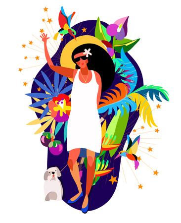 Caribbean holiday women