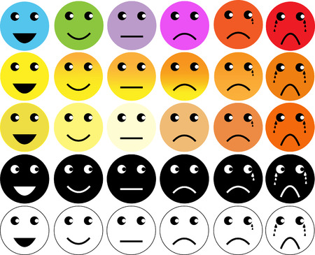face expressions: faces pain rating scale