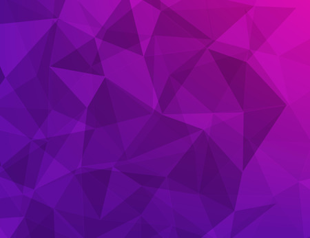 vecter: violet and dark pink polygonal geometric abstract background vecter Illustration