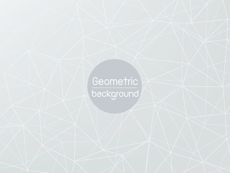 grey line: grey line polygonal geometric abstract background