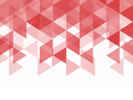本文 spacr のモザイク スタイルの赤とピンクの多角形幾何学的な抽象的な背景三角形