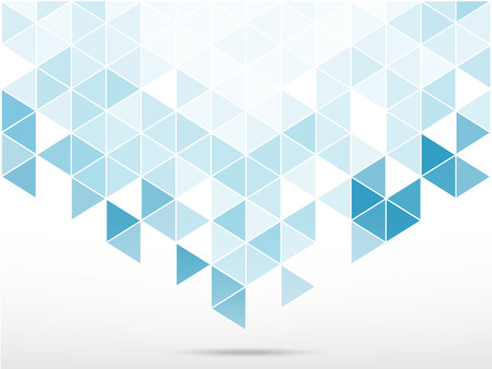 triabgle shape of abstract background on shade of blue and green vector