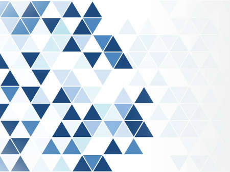 blue triangle abstract background modern style on isolated