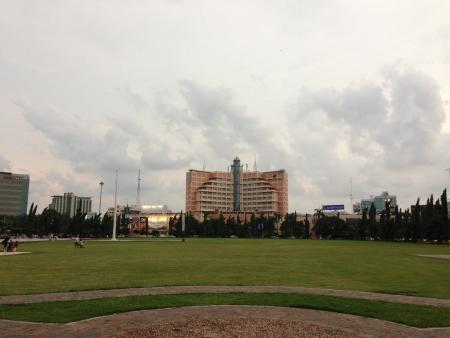 lima: Simpang Lima Square, Semarang Editorial