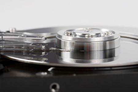 Hard disc drive inside details