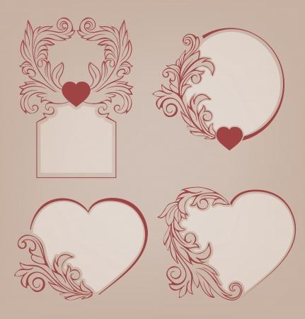 Romantic Valentine Vector