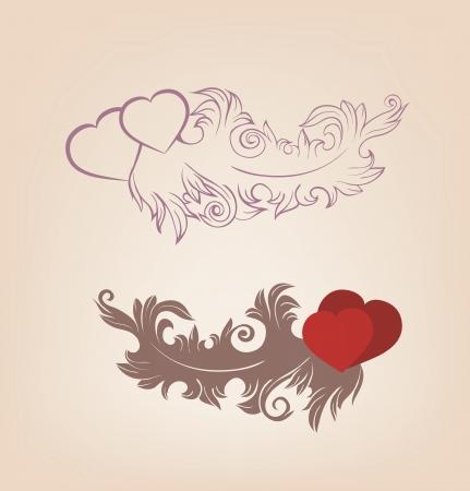 Romantic Valentine s Vector
