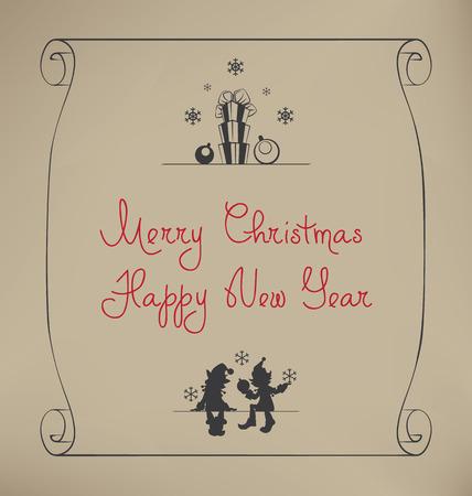 helpers: Dise�o de fondo de Navidad con la historieta linda ayudantes Sants - elfo