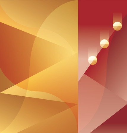 30s: abstract background design Art Deco geometric edged style