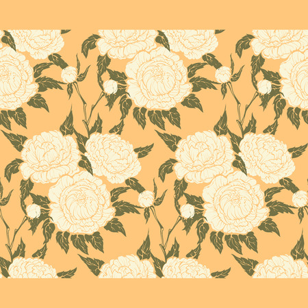 peonies: background graphic floral design of peonies bouquet