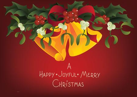 Christmas and holiday season card design