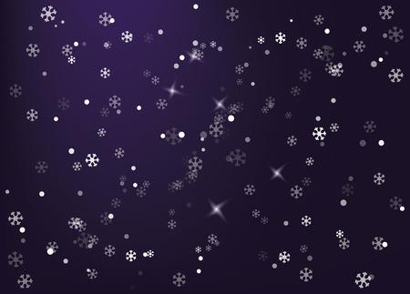 Winter design background vector illustration.