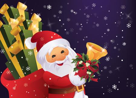 Christmas greeting card design vector illustration. 向量圖像
