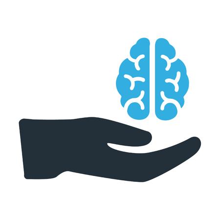 Neurocare vector illustration
