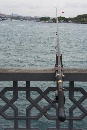 The taste of fishing on the galata bridge. While watching Istanbul bosphorus