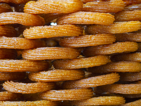 ring dessert. One of the most popular Turkish street delicacies.