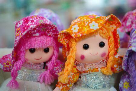 rag doll. handmade girl child toys
