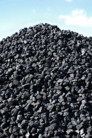 pile coal photo