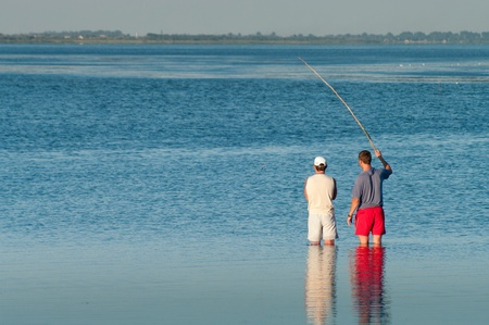 estuary: fishing on the estuary
