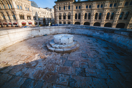 red square moscow: lugar de la ejecuci�n en la Plaza Roja, Mosc�, Rusia Editorial