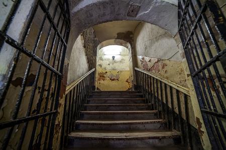 penitentiary: abandoned prison - Patarei in Tallinn, Estonia