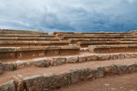 openair: Chersonesus. Ancient open-air amphitheatre in Sevastopol, Crimea