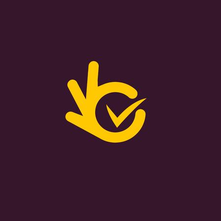 background check: unusual logo. Good job.
