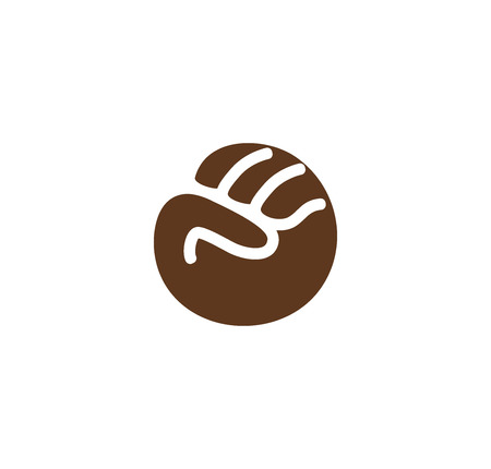 aggressive people: Isolated abstract brown color fist . Human hand gesture . Fight for black people rights sign. Anti racism protest symbol. Free race icon. Aggressive emotion. Vector illustration