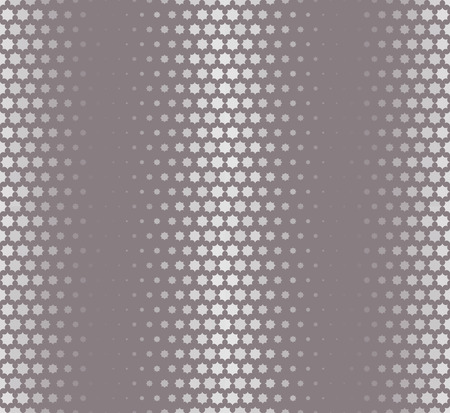 starlike: Isolated abstract grey color starlike pattern, seamless texture vector illustration