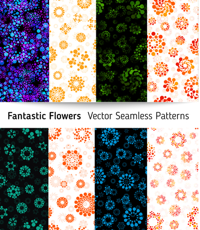 Abstract circles design pattern unusual collection