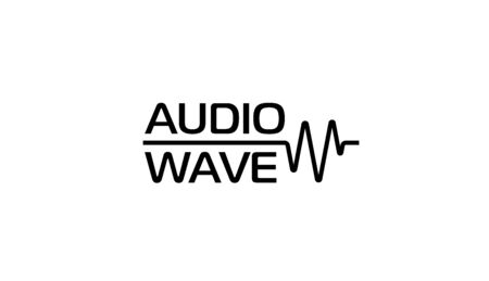 Audio wave or cardio wave  template. Vector illustration.