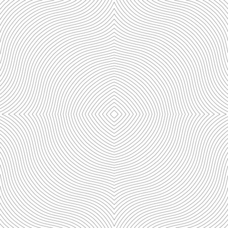 Smooth wave of the lines. Gray Beautiful transparent seamless texture. Background publications and printing Vector Illustration