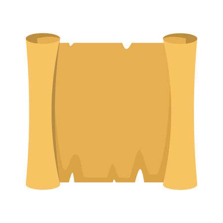 Papyrus. Blank papyrus, egyptian ancien paper. vector illustration 일러스트