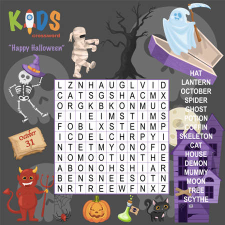 Easy word search crossword puzzle