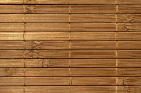 Close up of bamboo background board. horizontal pattern. nice texture.