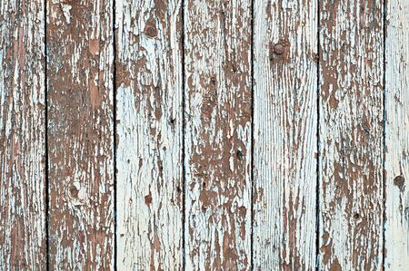 Old shabby scratched planks. Wooden Background Texture