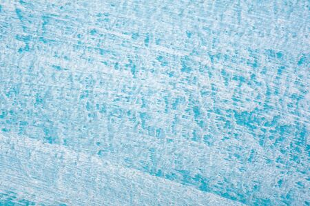 Beautiful Abstract Grunge Decorative Light Blue Cyan Painted Stucco Wall Texture. Handmade Rough Winter Christmas Paper Wide Background With Copy Space Stok Fotoğraf