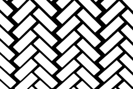 Herringbone pattern. White and black color texture or abstract background